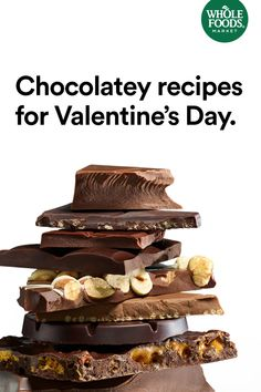 #Chocolate #MakesMeWhole True love never dies, but sometimes it melts. Nothing says love quite like chocolate. Discover delectable recipes that will make this Valentine's Day extra sweet.