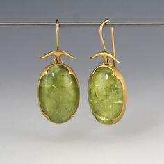 Grossular Garnet Earrings,Gabriella Kiss