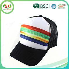 Sublimación tela de malla gorras de béisbol para los hombres sombrero  casquillo del camionero-Gorras de Deporte-Identificación del ... 28fb5dce36d