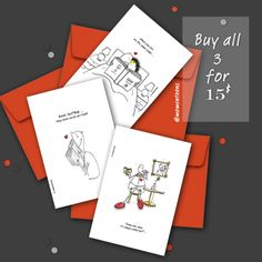 Ever know what to get your bookworm friends? Well, these might be just perfect for you! These sweet and sentimental greeting cards come blank on the inside for you to write your own special message, with a red envelope that protects your new purchase. Click the link on the post to purchase! #greetingcards #bookworm #booklover #hobby #illustration #funnycomics #relatable #art #artprints #bundle #custommade #budgetfriendly #lowcost #gift #ideas Gifts For Bookworms, Card Book, Personalized Notebook, Red Envelope, Lovers And Friends, Brighten Your Day, Inspirational Gifts, Book Nerd, Amazing Gifts