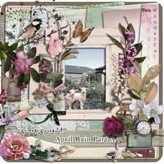 Beautiful Digital Scrapbooking Kit