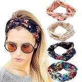 Women's Satin elastic cross headband geranium European and American hair accessories $1.98