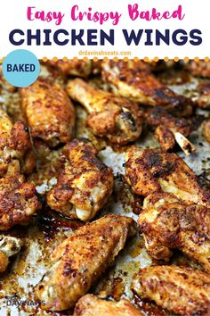 Crispy Baked Chicken Wings