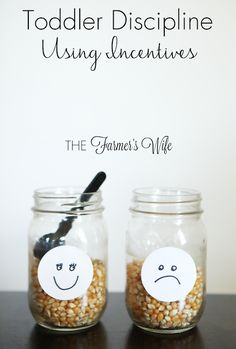 {effective toddler discipline | happy + sad jars}