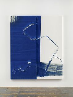 "Wade Guyton - Untitled (2014) ""Epson UltraChrome HDR inkjet on linen, 84 x 69 in """