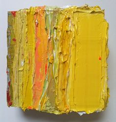 Elizabeth Sheppell - Fat Series No. Yellow Painting, Oil Painting Abstract, Knife Painting, Abstract Painters, Painting Prints, Painting Courses, Painting Lessons, Contemporary Abstract Art, Modern Art