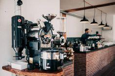 Schenkers Coffee, in a 1865 building in Apeldoorn The Netherlands