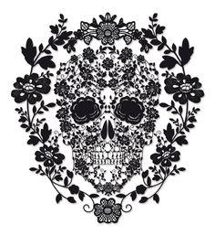 Dia de los Muertos/Day of the Dead~skull