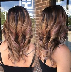 Balayage is a hair color technique that produces beautiful highlights that seem effortless and natural. Fall in love with this new trend staining technique and check out these beautiful Balayage ideas highlight . dark roots that need a touch of relief should consider Key balayage . This fabulous style weaves a desirable light ash tone …