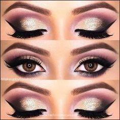 Image result for arabic eyeliner making eyes look bigger