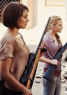 Maggie & Beth Greene
