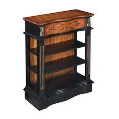 Coast to Coast 14047 1 Drawer Bookcase in Jackson Pecan
