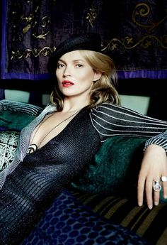 Kate Moss by Mario Testino for Vogue US December 2013
