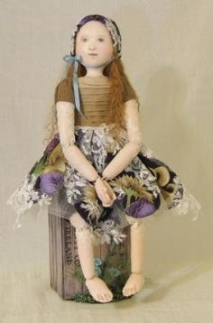 Poppet - Doll Street Dreamers -online doll classes, e-patterns, mixed media art classes, free doll patterns and more
