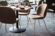GUBI // Beetle chairs at Nick & Stef's in LA