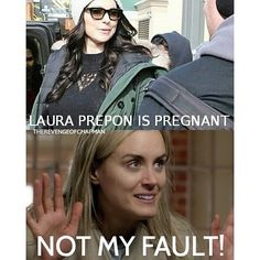 Not my Fault! #TaylorSchilling #PiperChapman #Oitnb #orangeisthenewblackseason4 #oitnbseason4 #vauseman #love #smile #alexvause #LauraPrepon #beauty #cute #fun #pretty #happy #me #orangeisthenewblack #beautiful #oitnbs4 #girl #crush #loveher #meme