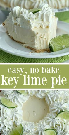 6 Typical Foods Mixtures That Are Literally Awful In Your Wellbeing - My Website Key Lime Pie Cheesecake, Key Lime Pie Bars, Best Key Lime Pie, Cheesecake Recipes, Key Lime Meringue Pie, Frozen Key Lime Pie, Key Lime Desserts, Easy Desserts, Delicious Desserts