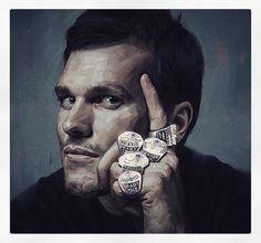 Tom Fckn Brady MVP of the Super Bowl and my heart:) Patriots Logo, New England Patriots Football, Patriots Fans, Atlanta Braves, New York Giants, Tom Brady Goat, Go Pats, Football Memes, Football Baby