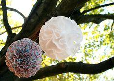 DIY Decorations: Cupcake Liner Love | {live laugh celebrate}