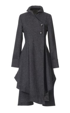 Bronwen, I need a coat like this. Love the feminine qualities.