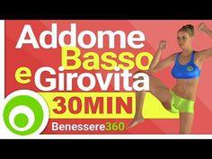 Esercizi per Addome Basso e Girovita - YouTube