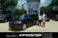 Happy Anniversary to Feyera on your #BMW #X5 from George Ondarza at Autos of Dallas!  https://deliverymaxx.com/DealerReviews.aspx?DealerCode=L575  #Anniversary #AutosofDallas