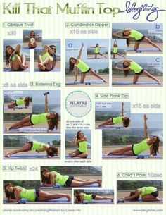 Pilates with light weights