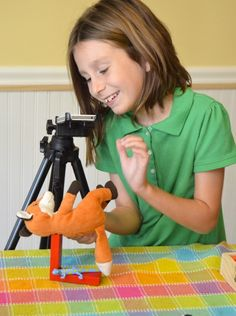 Rainy Day Fun: Simple Stop Motion Animation with Kids