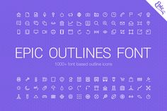 Check out 1000+ Epic Outlines Font by EpicShop on Creative Market