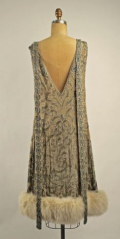 Dress, Evening B. Altman & Co. (American, 1865–1990) Date: early 1920s Culture: American or European Medium: silk