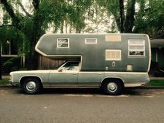 "van-life: ""Model: 1971 Chevy Kingswood Location: Portland, OR Photo: May 2015 """
