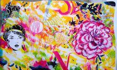 Guiño al #popart #contemporaneo #elche #art #paintings #antoniasoler #contemporaryart http://antoniasoler.com/es/blog