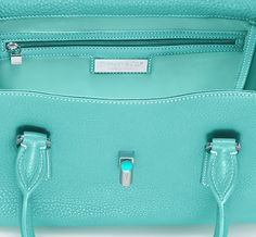 Tiffany & Co. | Item | Manhattan satchel in Tiffany Blue® grain leather, small. More colors available. | United States ($500-5000) - Svpply.  I have never cared so much about wanting a purse! Omg I in heaven