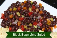 Mormon Mavens in the Kitchen: Black Bean Lime Salad
