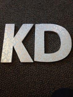 kappa delta damask letters