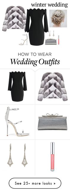 """""""winter wedding guest"""" by borntoread on Polyvore featuring Lilly e Violetta, Latelita, Chicwish, Giuseppe Zanotti, Judith Leiber and Forever 21"""