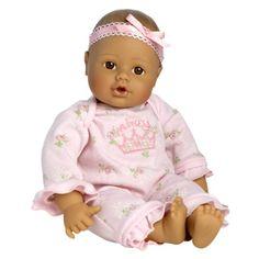 "Adora Little Princess Med/Brn 13"" Baby $29.39"