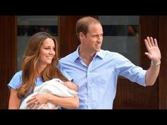 Prince William & Kate present their new little prince to the world. Congratulations!