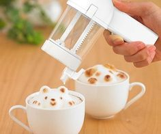 3D latte art maker Totally useless for me, but entertaining & cool if you have time to kill!