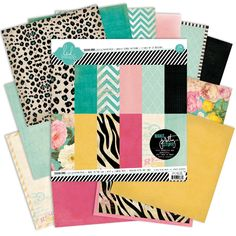 Heidi Swapp - Sugar Chic Collection - 12 x 12 Paper Pack, COMING SOON at Scrapbook.com $19.99