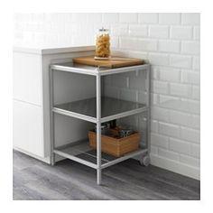 UDDEN Carrito, gris plata, ac inox - IKEA