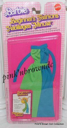 Barbie Beginners Fashions Collectibles Best Buy Favorites 1979 Jumper 1371 MIP | eBay