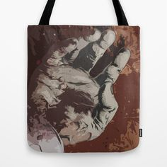 Give me Your Hand Tote Bag by Freak Shop | Freaks & Geek Products - $22.00