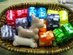 Melt and Pour soaps.