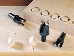 Veritas Tools - Coupe-bouchons coniques Snug-Plug®