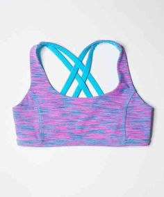 b2487df62ca47 Girl s Ivivva Vitality Sport Bra Space Dye Blue Pink 10 Sports Bra Bathing  Suit
