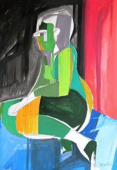 Ritratto di ragazza. Portrait of girl. 1993. Gabriele Donelli