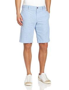 Izod Golf Shorts, Flat Front Slim Fit Shorts - Shorts - Men ...