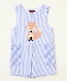 Loving this Blue Fox Romper - Infant & Toddler on #zulily! #zulilyfinds
