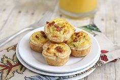 Mini Shrimp Quiche Bites